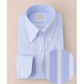 gotairiku / ゴタイリク 【形状安定】サマープレミアムプリーツ ドレスシャツ ボタンダウン