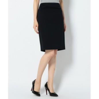 L size ONWARD(大きいサイズ) / エルサイズオンワード 【セットアップ可 / 洗える】Smooth Pinhead タイトスカート