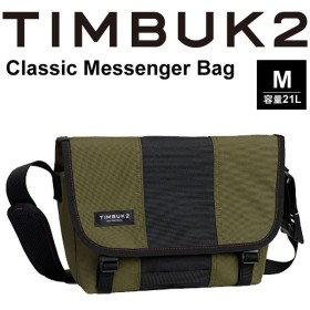 メッセンジャーバッグ TIMBUK2 ティンバック2  Classic Messenger Bag クラシックメッセンジャー Mサイズ 21L/ショルダーバッグ/110846426【取寄せ】