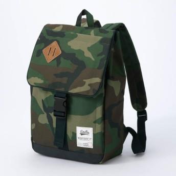 バッグ カバン 鞄 レディース リュック フラップリュックサック カラー カモフラージュ