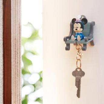 ディズニー キーホルダー付きのキーフック おかえりキーチェーン ミニーマウス