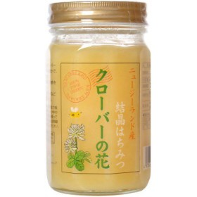 ニュージーランド産クローバー結晶蜂蜜 450g