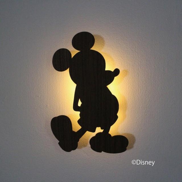 ディズニー センサーウォールライト カラー 「ミッキーマウス」