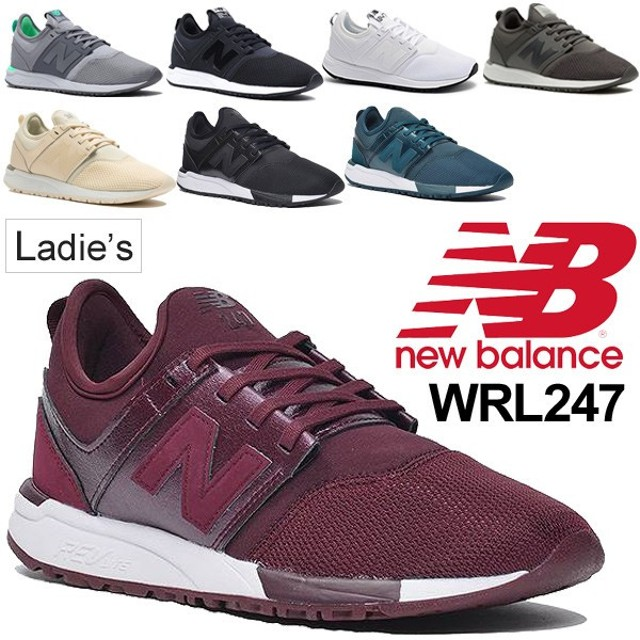 6489e938edb64 ニューバランス スニーカー レディース newbalance シューズ 女性用 スポーツカジュアル B幅 ローカット メッシュ 靴 Nロゴ