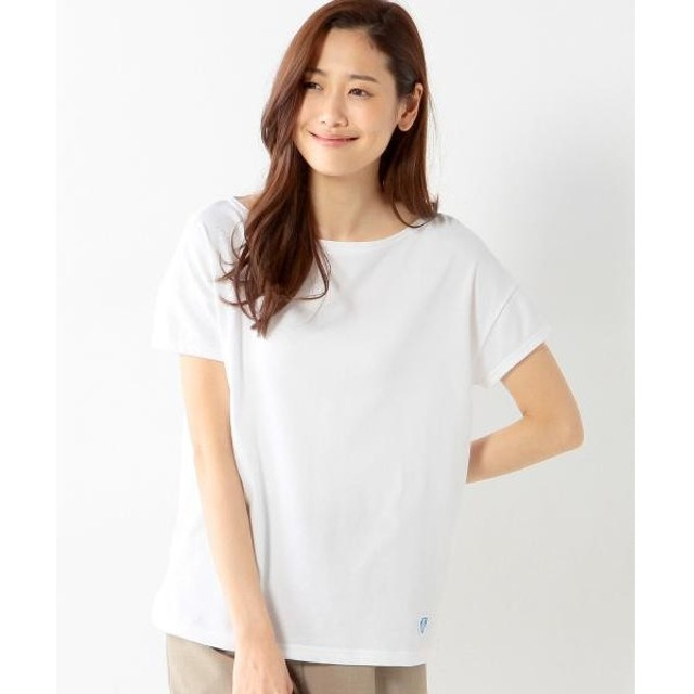 THE STATION STORE UNITED ARROWS LTD. / ザ ステーション ストア ユナイテッドアローズ <ORCIVAL> C 40/2 TEE