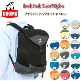chums チャムス Book Pack Sweat Nylon CH60-0680