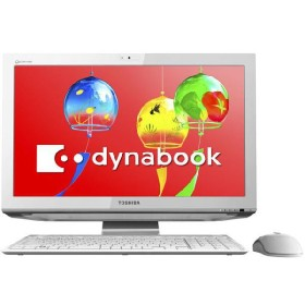 ●デスクトップパソコン 東芝 dynabook Qosmio D711 D711/T7CW PD711T7CBFW [リュクスホワイト] 【代引き不可・取寄せ】