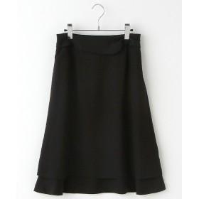 INGEBORG / インゲボルグ ポリッシュジョーゼットスカート