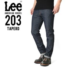 Lee リー AMERICAN RIDERS 203 テーパード デニムパンツ ダークインディゴ【LM5203-500】 ブランド