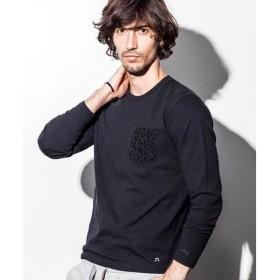 SHIFFON / シフォン 【NUMBER (N)INE DENIM】ポケット柄デザインロングTシャツ