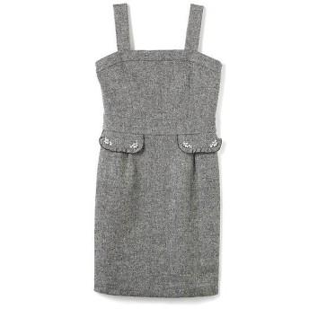 PROPORTION BODY DRESSING / プロポーションボディドレッシング ブライトスパンツィードジャンパースカート