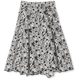 PROPORTION BODY DRESSING / プロポーションボディドレッシング  ミニドットエンブロイダリーアシメスカート