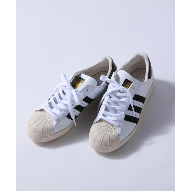 Droite lautreamont / ドロワットロートレアモン 【adidas】SUPERSTAR 80s