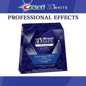 CREST クレスト 3D ホワイト Whitestrips ホワイトストリップ プロフェッショナルエフェクト 【5回分 10枚】