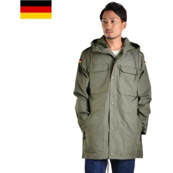 メンズ ミリタリー コート アウター ジャケット 実物 新品 ドイツ軍山岳部隊ノイマティック マウンテンパーカー #1 デッドストック