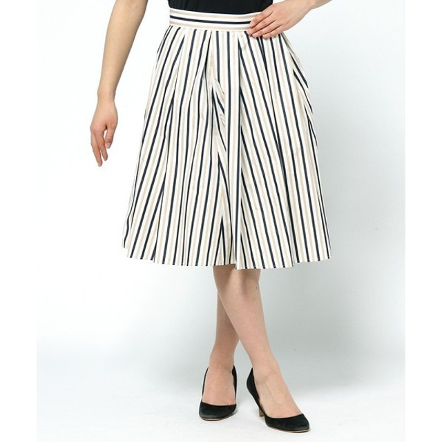 組曲 / クミキョク メモリーストライプ スカート