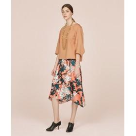 自由区 / ジユウク 【Class Lounge】Peony Garden スカート