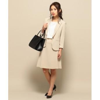 S size ONWARD(小さいサイズ) / エスサイズオンワード 【洗えるスーツ】トリアセダブルジョーゼット スカート