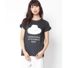 MAYSON GREY / メイソングレイ ハットプリントTシャツ