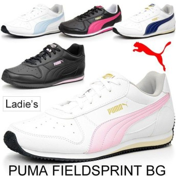 プーマ レディース スニーカー シューズ 通学靴 PUMA フィールドスプリント BG 355503