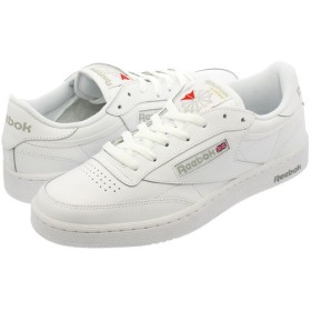 Reebok CLUB C 85 リーボック クラブ C 85 WHITE/SHEER GREY