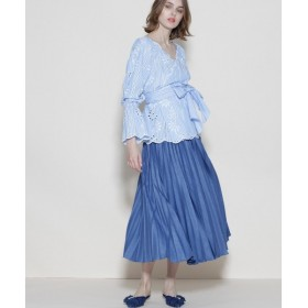 GRACE CONTINENTAL / グレースコンチネンタル ブッチャープリーツスカート