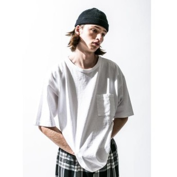 BEAUTY&YOUTH UNITED ARROWS / ビューティ&ユース ユナイテッドアローズ <CALUX × monkey time> 1POCKET TEE/Tシャツ