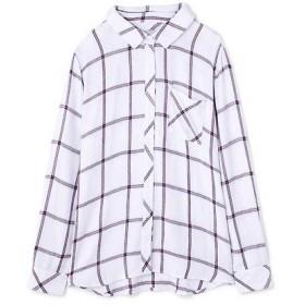 ROSE BUD / ローズ バッド [RAILS]チェック柄ロングスリーブシャツ