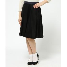 J.PRESS / ジェイプレス スムース&ドット プリント スカート