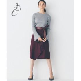 自由区 / ジユウク 【Class Lounge】WOOL DRAPE スカート
