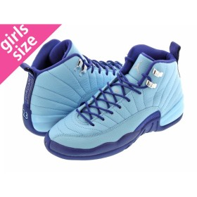 NIKE AIR JORDAN 12 RETRO GG ナイキ エア ジョーダン 12 レトロ GG BLUE CAP/METALLIC SILVER/DARK PURPLE DUST 510815-418