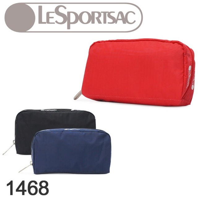 レスポートサック LeSportsac ポーチ 1468(6511) RECTANGULAR COSMETIC  当社限定 復刻版 コスメポーチ 化粧ポーチ レディース ナイロンポーチ