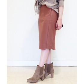 RIVE DROITE / リヴドロワ ヘムデザインストレッチタイトスカート