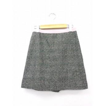 プロポーション ボディドレッシング PROPORTION BODY DRESSING スカート 台形スカート ミニ 無地 シンプル 2 ブラック ピンク 黒