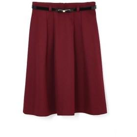 PROPORTION BODY DRESSING / プロポーションボディドレッシング  バックサテンツイルスカート