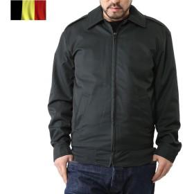 実物 新品 ベルギー軍キルティングライナー付き ジャケット DARK OLIVE メンズ ブルゾン ジャンパー アウター デッドストック