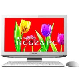 東芝 デスクトップパソコン 東芝 REGZA PC D711 D711/T3EW PD711T3ESFW [リュクスホワイト] 【取寄せ代引不可】
