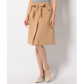 S size ONWARD(小さいサイズ) / エスサイズオンワード 【洗える】タック スカート