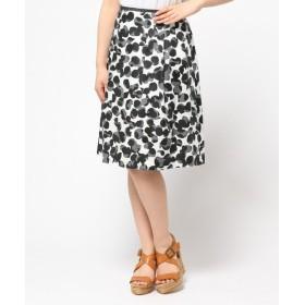 J.PRESS / ジェイプレス 変形ドットプリント スカート
