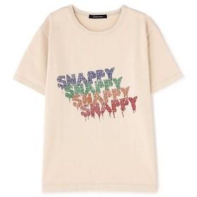 ROSE BUD / ローズ バッド ロゴプリントTシャツ