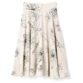 N.Natural Beauty Basic / エヌ ナチュラルビューティーベーシック ビッグフラワーフレアスカート