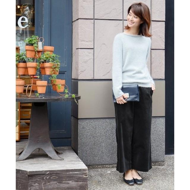 NIMES / ニーム ストレッチ別珍 9分丈パンツ
