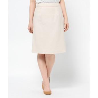 any SiS / エニィスィス 【セットアップ対応】ドビーラメスラブ スカート