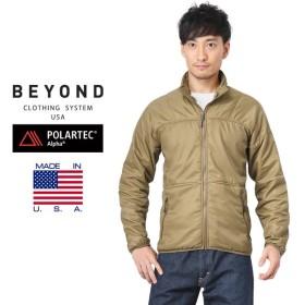 BEYOND CLOTHING ビヨンド クロージング A3 ALPHA SWEATER アルファ セーター【44077】 メンズ ミリタリージャケット アウター ブルゾン ブランド