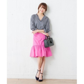 組曲 / クミキョク 【洗える】コンパクトダイヤコート スカート
