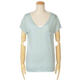 TOMORROWLAND / トゥモローランド ソフトレーヨン VネックTシャツ