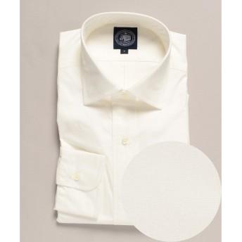 J.PRESS / ジェイプレス 高密度ポプリン ワイドカラーシャツ