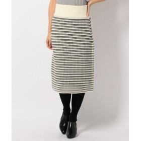 ICB / アイシービー 【セットアップ可】Slip Jacquard スカート