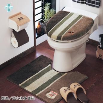 トイレマット ディズニー フタカバー 単品 セット/チップ&デール