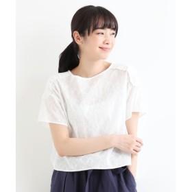 NIMES / ニーム ローン刺しゅうブラウス